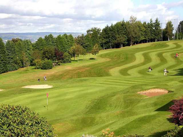 Outstanding fairway at Holywood Golf Club