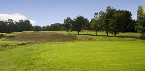 18th at Piltdown Golf Club