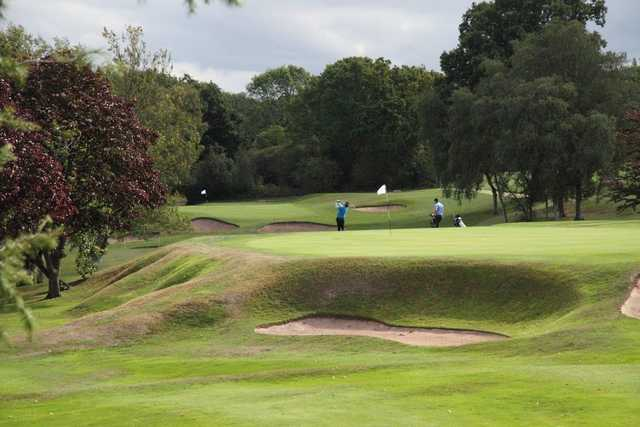Image of the 10th hole at Moseley Golf Club
