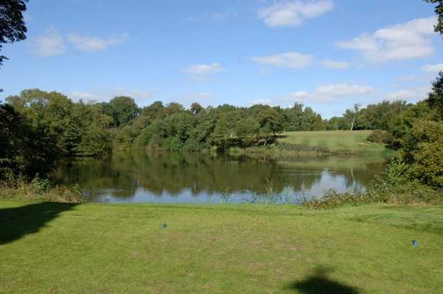 Image from the 5th tee at Moseley Golf Club