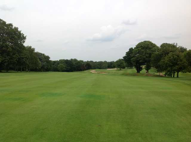 The stunning 10th fairway at Moselely Golf Club