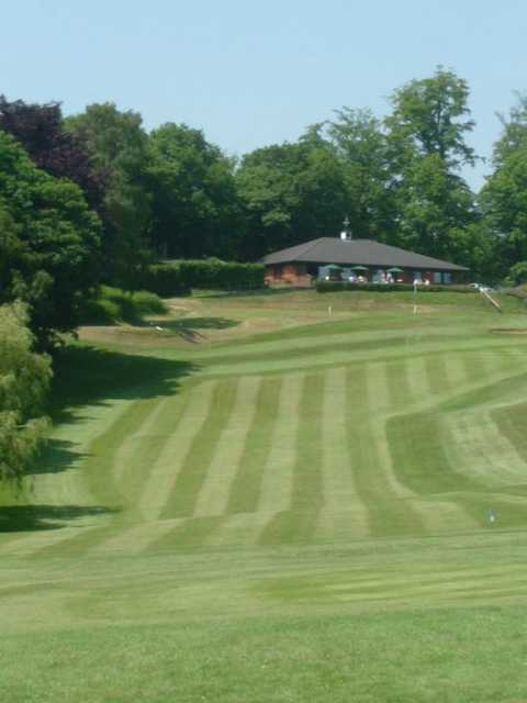 Amazing fairway at Dorking Golf Club