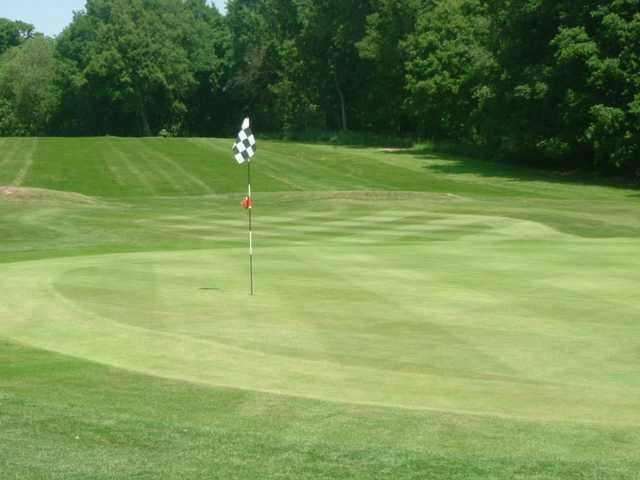 Exceptional putting greens at Dorking Golf Club