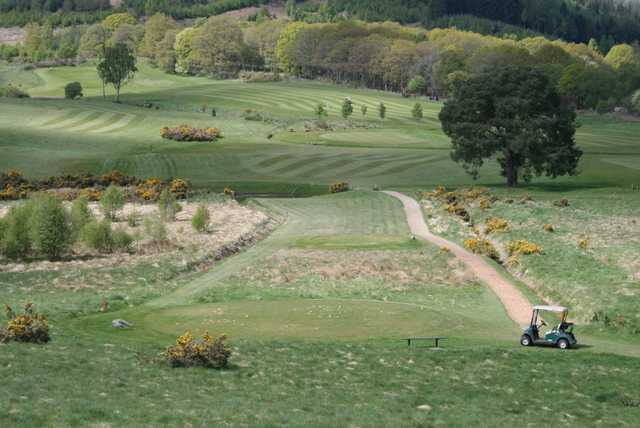 Exceptional course conditions at Dunkeld & Birnam Golf Club