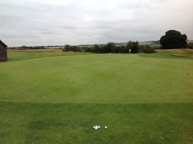 The putting area at Kilworth Springs Golf Club