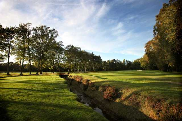 A look at the tough 17th at Copthorne Golf Club