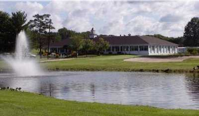 A view from Edgewood in the Pines with the clubhouse in background