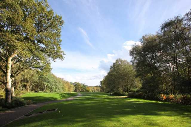 11th green at Copthorne Golf Club