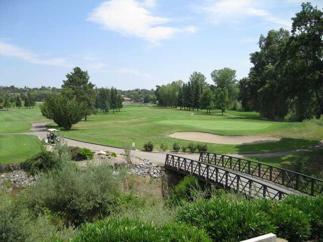 View of a green at La Contenta Golf Club