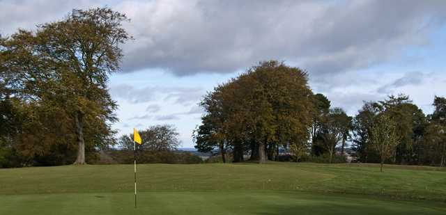 Alnwick Castle GC: 3rd from green
