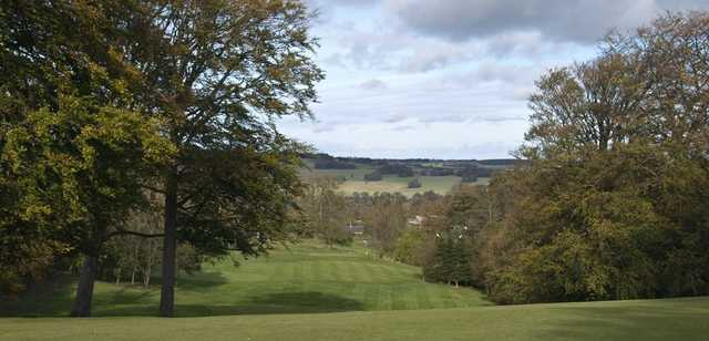 3rd from top of hill at Alnwick