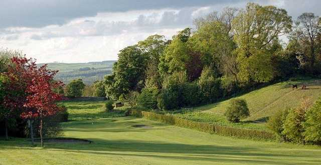 The picturesque surroundings of Alnwick Castle Golf Club