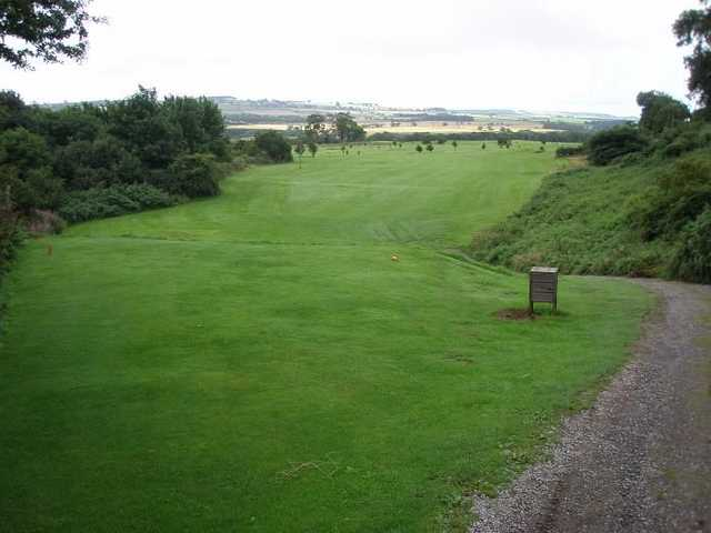 One of Alnwick Castle Golf Club fairways highlighting the stunning countryside views
