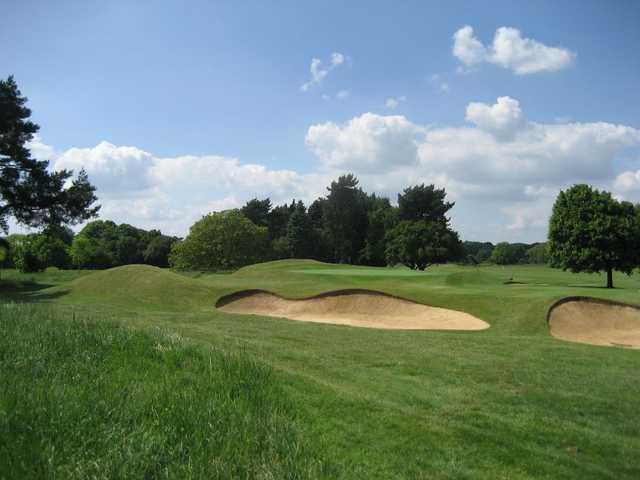 16th green at Oxford Golf Club