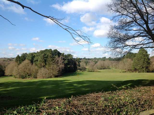 View of the 18th green and back up the fairway at Southampton City Golf Club