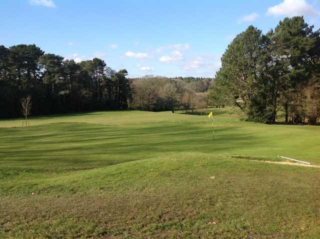 The 9th green at Southampton City Golf Club