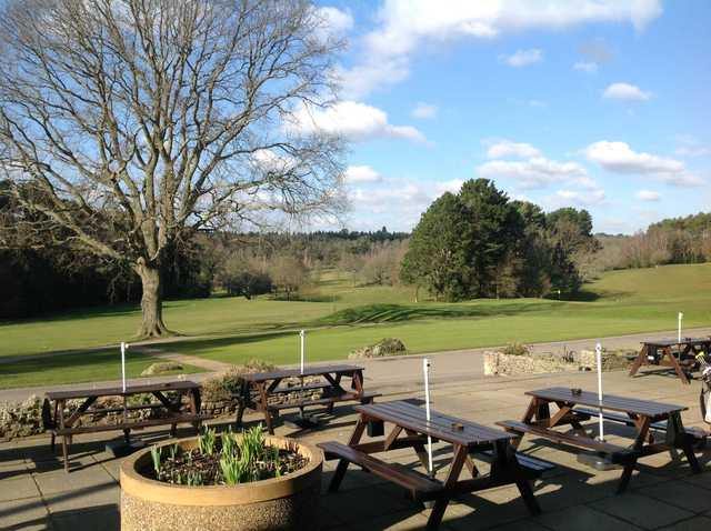 Stunning view from the clubhouse out to the course at Southampton City Golf Club
