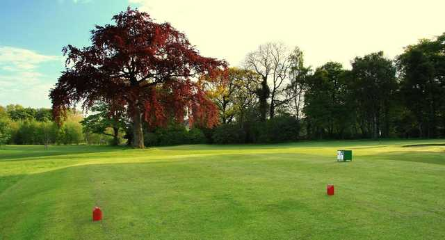 View of a green from the next tee at Silverknowes Golf Club