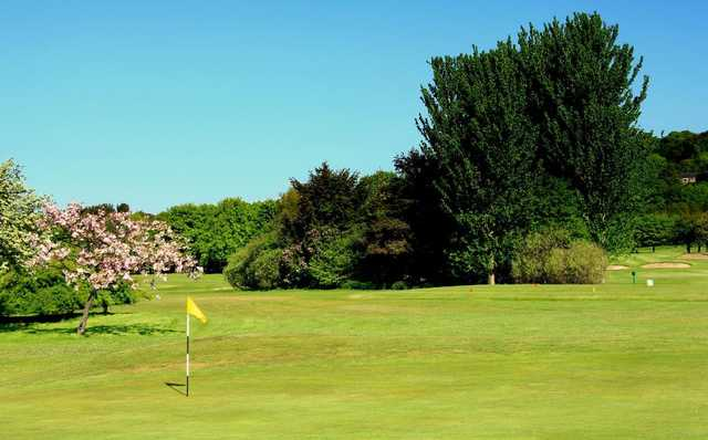 Beautiful scenery around the greens at Carrick Knowe Golf Course
