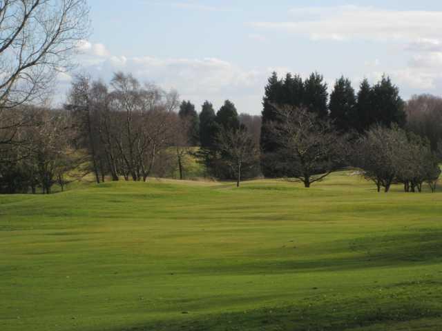 The 18th fairway at Regent Park Golf Club