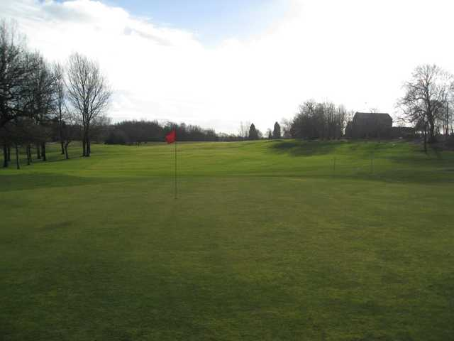 The 18th green at Regent Park Golf Club