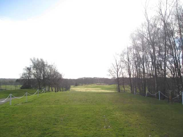 Scenic view from the 1st tee at Regent Park Golf Club