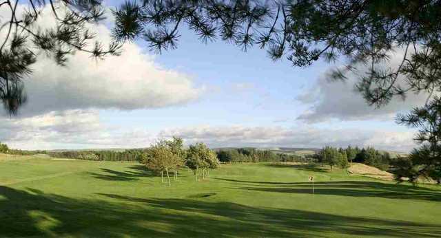 West Linton 14th hole