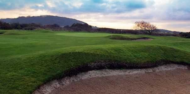 14th hole at Sheringham Golf Club