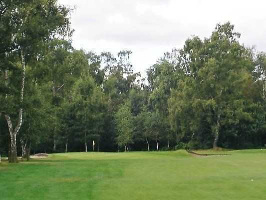A true image of the flat fairways you can experience at Ashby Decoy Golf Club
