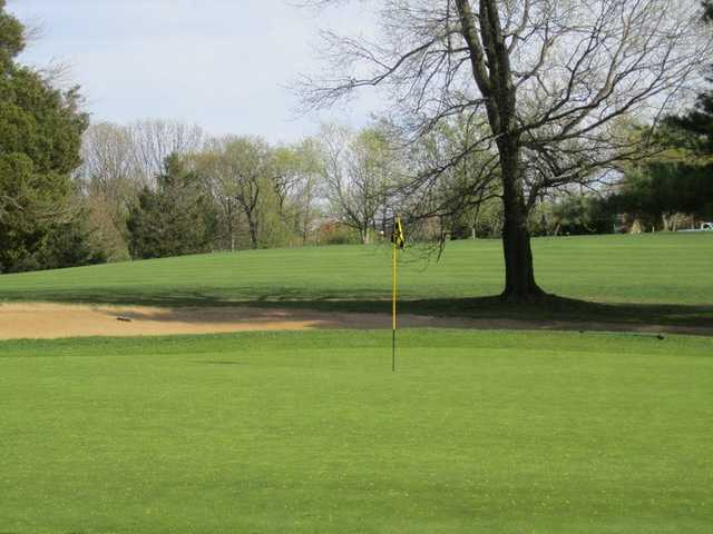 A view of hole #15 at Middletown Country Club