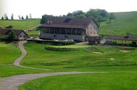 Glengarry Golf Links: View of the clubhouse