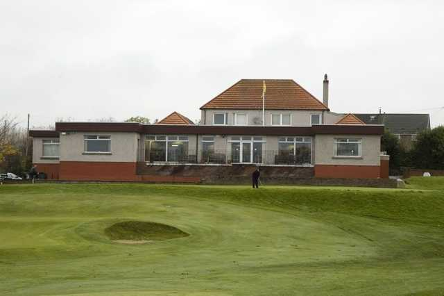 Pitreavie's clubhouse