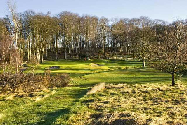 Stunning par 3 6th at Pitreavie Golf Club