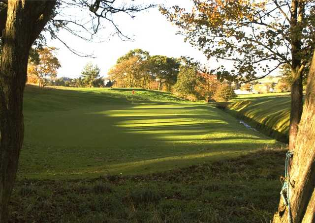 12th green at Pitreavie Golf Club