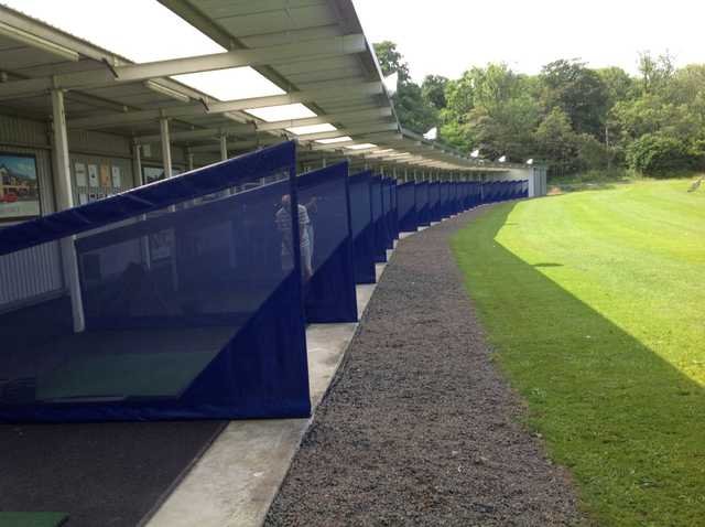 The large driving range at Parklands Golf Club