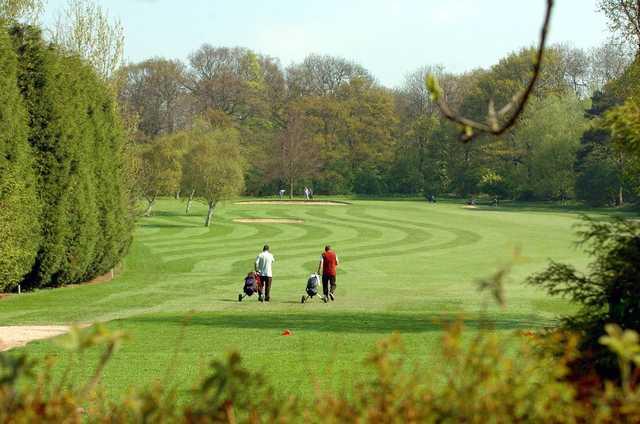 The par 71 golf course at Parklands Golf Club