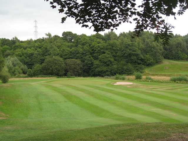 The approach to the 10th hole at Brookdale golf course
