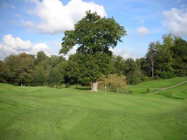 Perfectly manicured greens at Tunbridge Wells Golf Club.