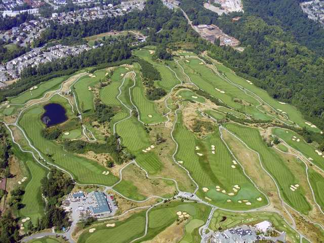 Newcastle United Golf Club: Aerial view