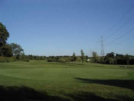 Fantastic green on the 7th from Wath Golf Club