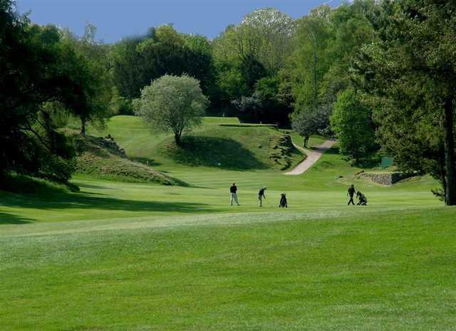 The par-5 11th at Silverdale Golf Club