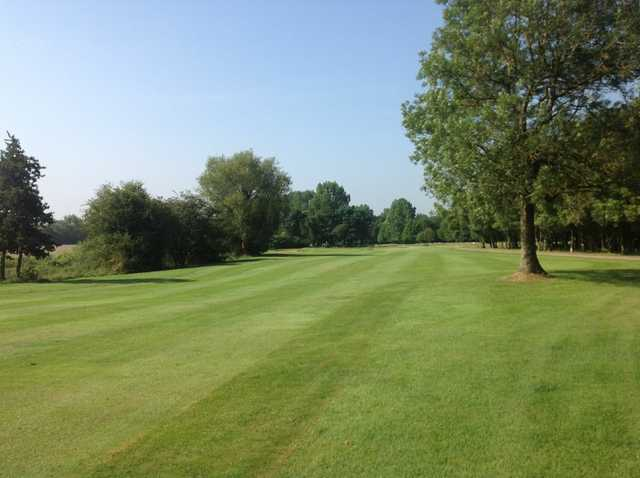 A view of the third hole at Brandon Wood Golf Club