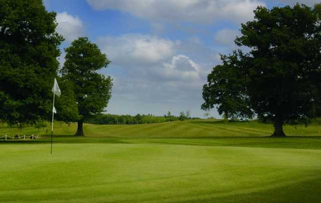 1st hole on the Chobham Golf Course
