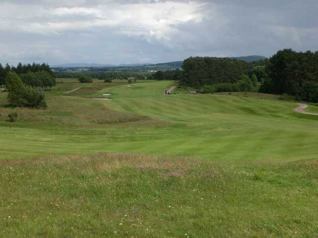 Fairway from Lanark GC