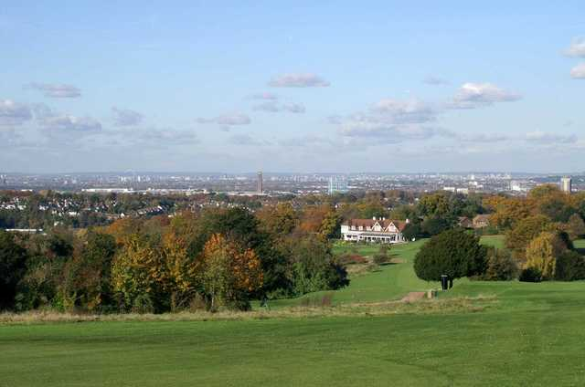 View from Purley Downs GC