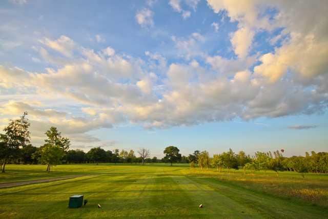 5th fairway at Weald of Kent Golf Club