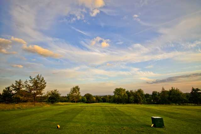 The 7th tee at Weald of Kent Golf Club