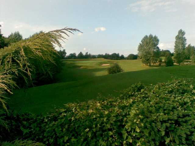 View showing the undulating course at Bury Golf Club