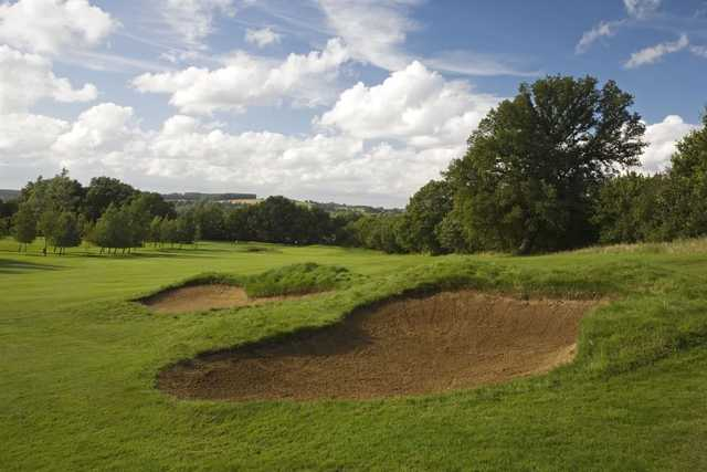 Bunkers on the 4th at Newbury & Crookham
