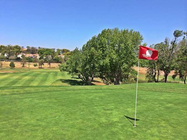 View from a green at Los Serranos Golf & Country Club